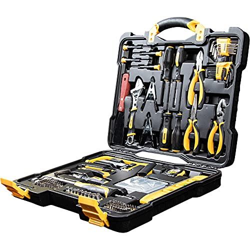 WMC TOOLS Werkzeugkoffer 144 teilig Bit...