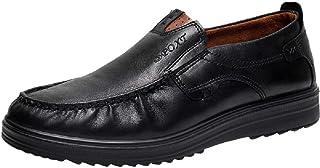 Hommes Mocassins Penny Loafers Bateau Cuir Conduite Chaussures de Ville Flats pour Travail Mariage Dressing Business