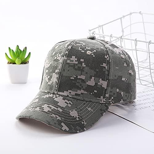 Gorra Camuflaje ajustable largo beansbol gorra de béisbol primavera verano sombra al aire libre hombres mujeres impresión papá sombrero pico gorra Sombreros y gorras ( Color : 04 , Size : Adjustable )
