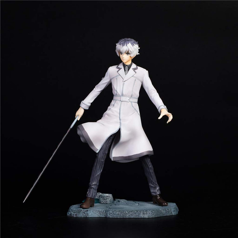 compras de moda online HNBY Juguete Juguete Juguete de Anime Ghoul Modelo Personaje Escultura Postura Sentado Regalo plástico colección Modelo Decorativo Juguete Estatua (Color   A)  Las ventas en línea ahorran un 70%.