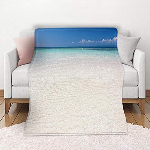 HWHMJJ Manta de Franela en Microfibra Playa Extra Suave Acogedora y Cálida Manta 3D Impresa Cubierta de Cama Mantas de Sofa Cama para Adultos y Niños 70 x 100 cm