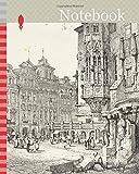 Notebook: Hotel de Ville, Prague, 1833, Samuel Prout (English, 1783-1852), probably printed by Charles Joseph Hullmandel (English, 1789-1850), ... Ackermann (English, 1764-1834), England