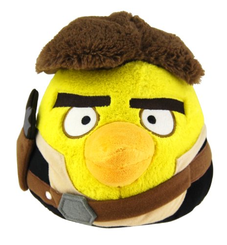 """Angry Birds Star Wars 8 """"peluche : Han Solo"""
