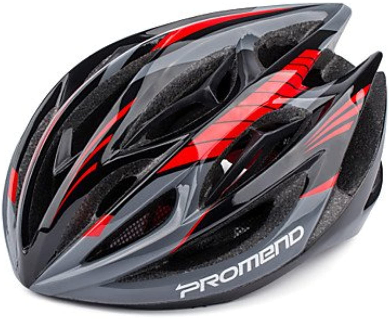 Promend Anpassung Radfahren MTB Road Bike saftly Helm mit 19 Belüftungsöffnungen Ultralight 260 g engen gegossenem, 56 cm B07876FNRF  Geeignet für Farbe