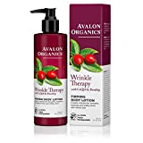 Avalon Organics Wrinkle Therapy Firming Body Lotion, 8 oz. (Pack of 2)