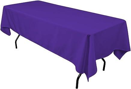 Purple Tablecloths Kitchen Table Linens
