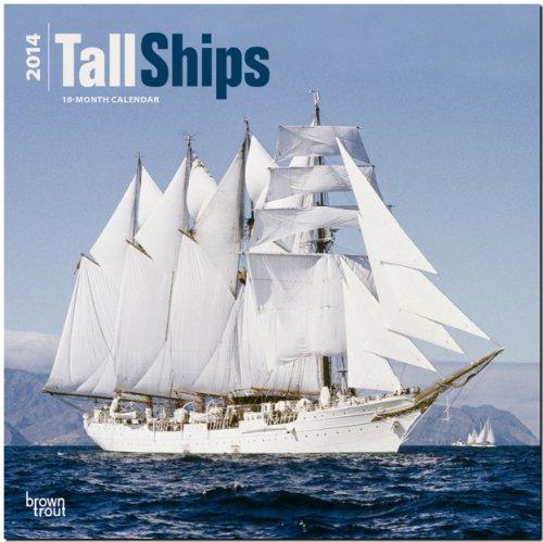 Tall Ships 2014 - Segelschiffe: Original BrownTrout-Kalender [Mehrsprachig] [Kalender]