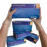 ARNOMED Vinyl Einmalhandschuhe L, puderfrei, 100 Stück/Box, Einweghandschuhe, Vinyl Handschuhe, in Gr. S, M, L & XL verfügbar