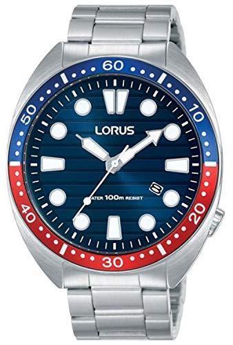 Lorus Sport Man Reloj para Hombre Analógico de Cuarzo con Brazalete de Acero Inoxidable RH925LX9