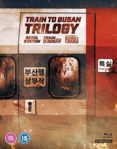 Train To Busain Trilogy (Seoul Station / Train To Busan / Peninsula) [Blu-ray] [2020]