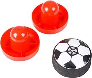 ArtCreativity 3 Inch Air Soccer Table Top Game - Fun New Indoor Game for Kids and Adults - Includes 2 Mallets and 1 Puck Gliding Air Hockey Dynamics - Best Gift Idea for Boys and Girls