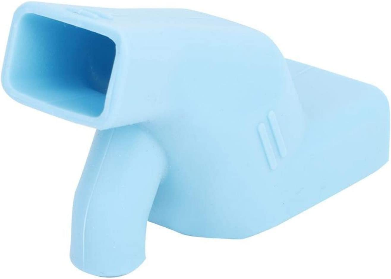 Faucet Extender, Silicone Sink Spout Extender Bath Spout Cover Children Toddler Hand Washing Water Tap Extender for Bathroom Kitchen(Blue)