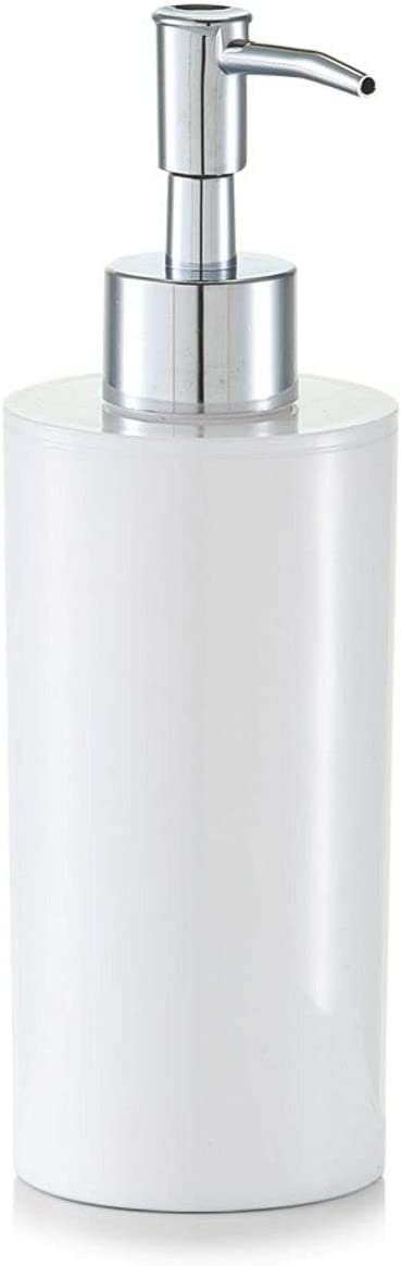 Zeller 18800/Juego de Accesorios para el ba/ño 4/Piezas 14.5 x 15.5 x 27 cm wei/ß pl/ástico pl/ástico