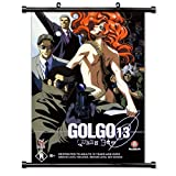 Golgo 13 Anime Fabric Wall Scroll Poster (32 x 47) Inches. [WP]-Golgo-4 (L)