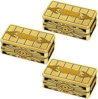 Yu-Gi-Oh! TCG: 2019 Gold Sarcophagus Tin (Set of 3)