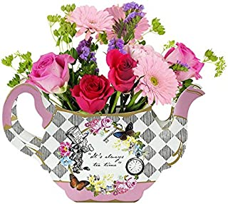 Talking Tables Alice In Wonderland Party Supplies | Vase Centrepiece | Great For Mad Hatter Tea Party, Birthday Party And Baby Shower | Paper