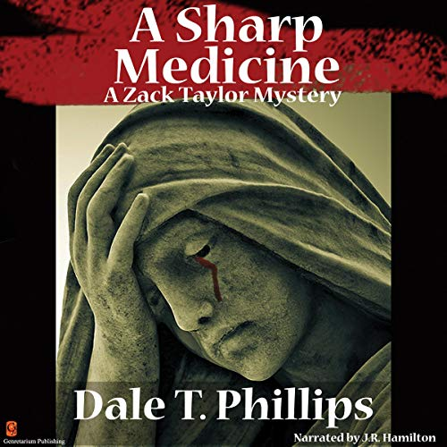 A Sharp Medicine (A Zack Taylor Mystery) audiobook cover art