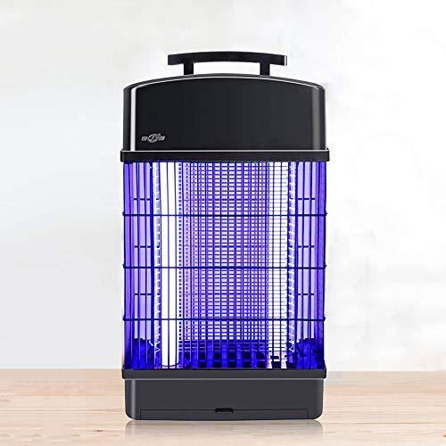 WANY Lámpara Mosquito Lámpara Anti Mosquitos Lámpara Antimosquitos Electrico,Fuente de luz Dual UVA,Control de Mosquitos físico,Caja de recolección Tipo cajón Independiente,Fácil de Limpiar.