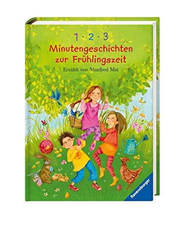 1-2-3 Minutengeschichten zur Frühlingszeit (Vorlese- und Familienbücher)