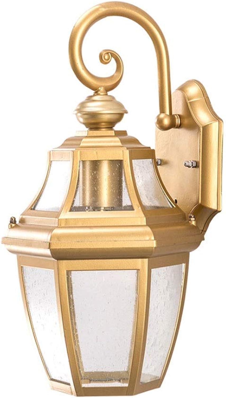 Liunce 1-Light Edison E27 American Rustikale Wandleuchte Aluminium Rostschutz Victoria Backyard Vintage Auenwandleuchte Retro Wasserdichte Balkon Haus Wandleuchte für Aisle Club Auerhalb