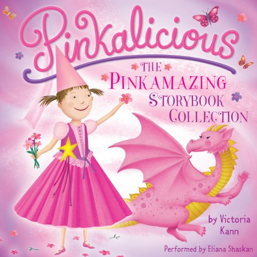 Pinkalicious: The Pinkamazing Storybook Collection                   By:                                                                                                                                 Victoria Kann                               Narrated by:                                                                                                                                 Eliana Shaskan                      Length: 29 mins     17 ratings     Overall 4.8
