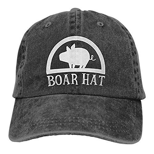 DUYIFEI Cappellini Baseball Cappello da Cowboy Lavato Classico Regolabile Boar Hat The Seven Deadly Sins Nanatsu No Taiz Berretto da Baseball da Camionista per Sport all'Aria Aperta per Adulti