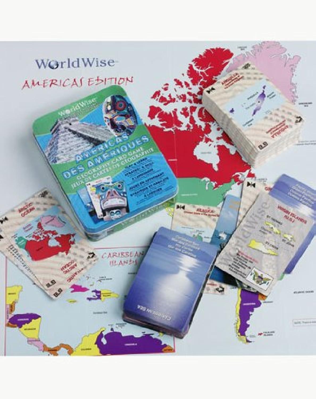 Replogle Globes 6 1 World Wise Americas Card Game