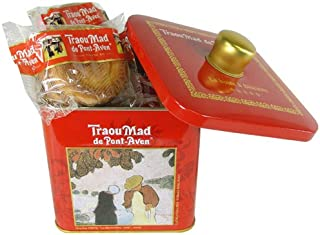 7 Oz Red Tin Traou Mad Galettes De Pont Aven Butter Cookies