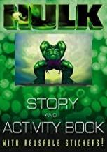 Story and Activity Book (The Hulk)