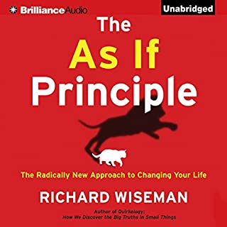 The As If Principle audiobook cover art