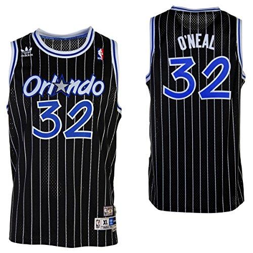 Shaquille O'Neal Orlando Magic Black Youth NBA Hardwood Classics Jersey (X-Large 18/20)