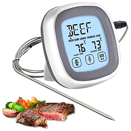 LIVETTY Digital Fleischthermometer mit...