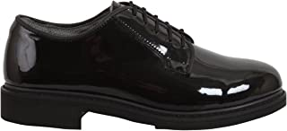 patent leather shoes military