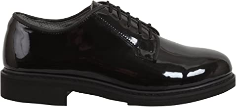 patent leather military shoes