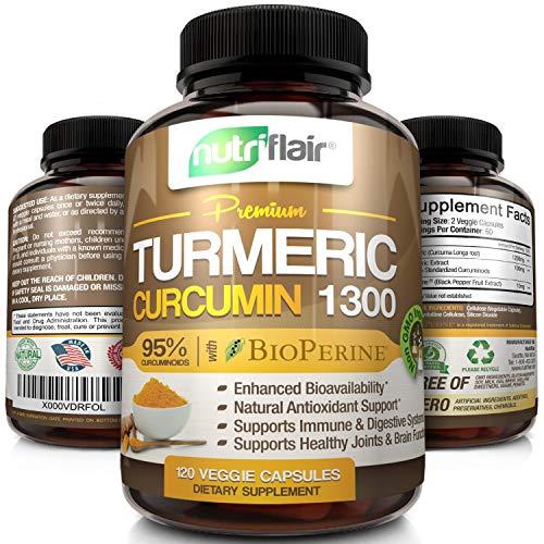 NutriFlair Premium Turmeric Capsules