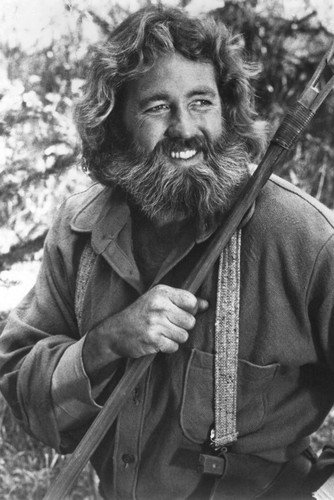 Life and Times Of Grizzly Adams Dan Haggerty Poster