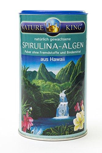 NatureKing 200g SPIRULINA-ALGEN aus HAWAII, Pulver zur Nahrungsergänzung