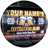 ADVPRO Personalized Your Name Custom Home Bar Beer Est. Year Dual Color LED Barlicht Neonlicht...