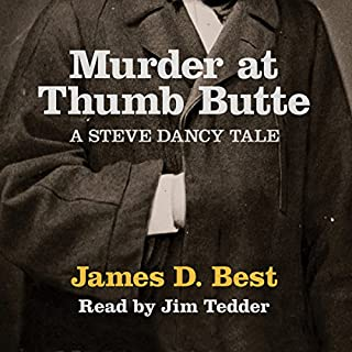 Murder at Thumb Butte audiobook cover art