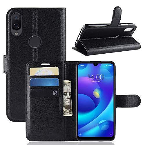 Capa Capinha Carteira 360 Para Xiaomi Mi Play Tela 5.84Case Couro Flip Wallet - Danet (Preta)