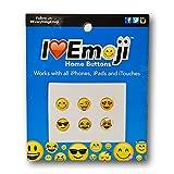 Emoji Home Button Charm - Six Designs - Set #1