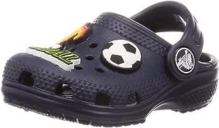 crocs Unisex Kid's Navy Clogs-J2 (205812-410)