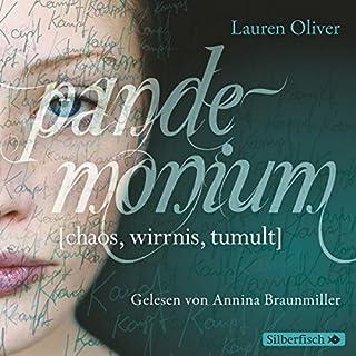 Pandemonium     Amor-Trilogie 2              Autor:                                                                                                                                 Lauren Oliver                               Sprecher:                                                                                                                                 Annina Braunmiller-Jest                      Spieldauer: 7 Std. und 28 Min.     218 Bewertungen     Gesamt 4,5