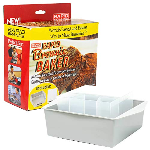 Betty Crocker Rapid Cake Maker | Microwave Delicious Cakes in 6 Minutes | Perfect for Dorm, Small Kitchen, or Office | Dishwasher-Safe, Microwaveable, & BPA-Free