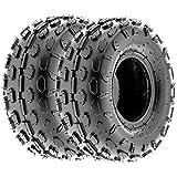 Set of 2 SunF A015 Sport-Racing ATV/UTV Tires 145/70-6, 6-PR