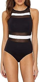 Best high neck one piece swimsuit cheap Reviews