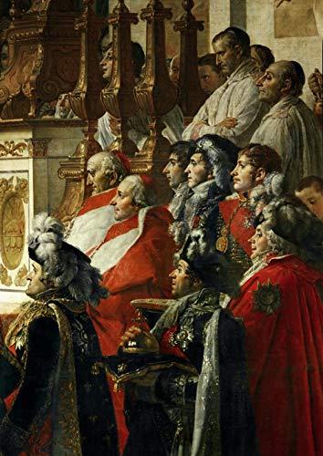 David Jacques Louis La Coronación del Emperador Napoleón I Bonaparte 2 Rompecabezas Juguete de Madera Adulto Familia Amigo DIY Challenge Decoración de la Pared 1000 Pieza