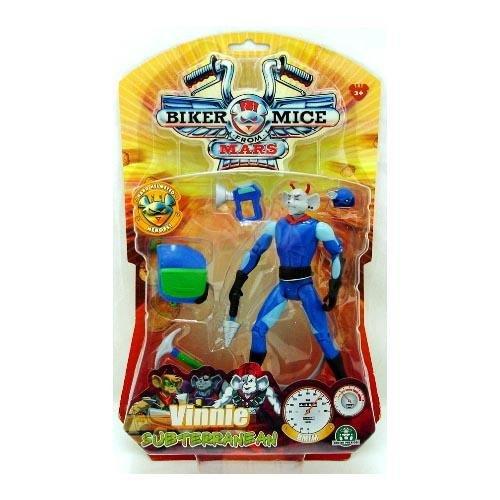 Giochi Preziosi Biker-Mice from Mars Action Figure Vinnie Subterranean