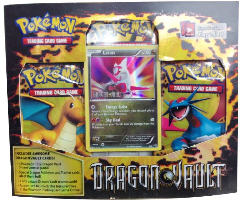 Pokemon Latias Card Game Dragons Vault Special Edition 3-Pack [1 Booster Packs & 1 Promo Card]