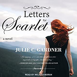 Letters for Scarlet audiobook cover art